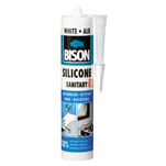 Silicon sanitar Bison alb 280ml