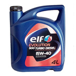 Ulei de motor Elf Evolutions 500 Turbo Diesel, 15W-40, 4l