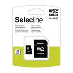 Card de memorie microSDHC Selecline 32GB cu adaptor SD