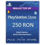Card Sony Playstation Store credit 250RON