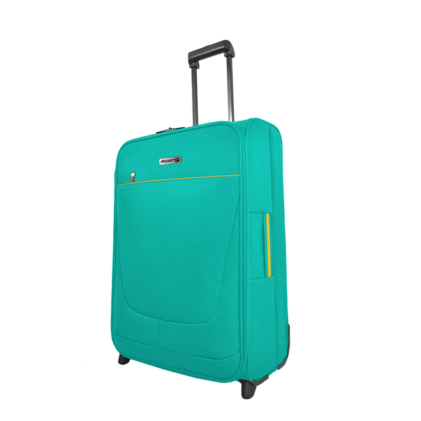 Troler Airport SoftBox Verde, 35 x 20 x 51 cm , 30 L