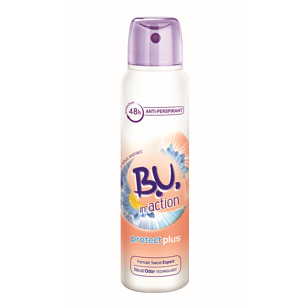 Deodorant spray BU in action Protect Plus 150 ml