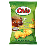 Chio Kettle Chips cu smantana si ceapa verde 80 g