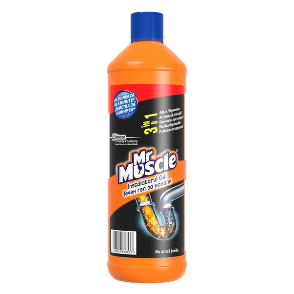 Mr. Muscle Instalatorul Gel, 1 l