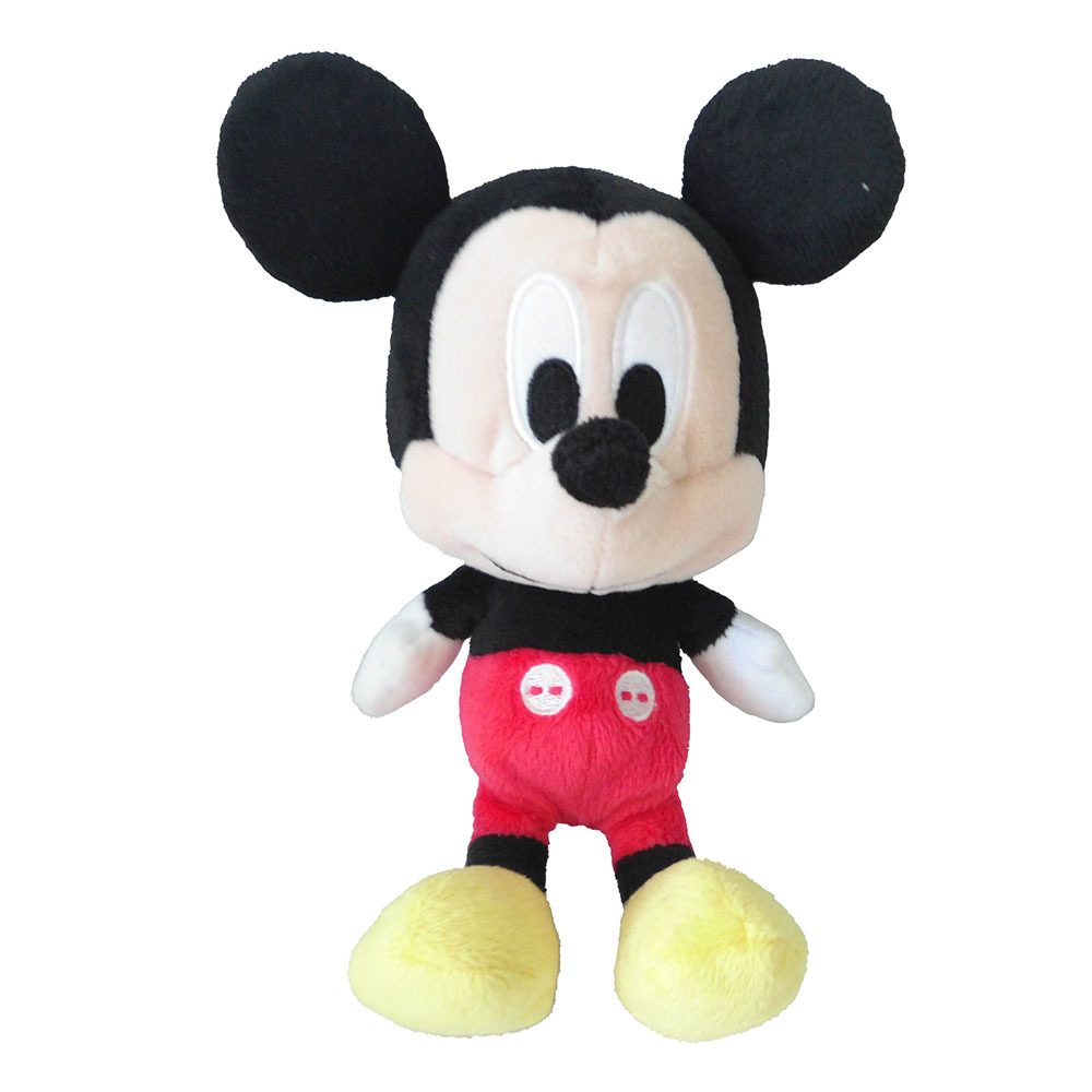 Jucarie de plus Minnie/Mickey Mouse, 20 cm