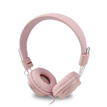 Casti handsfree on ear Qilive Q1296 roz cu mufa jack 3.5mm
