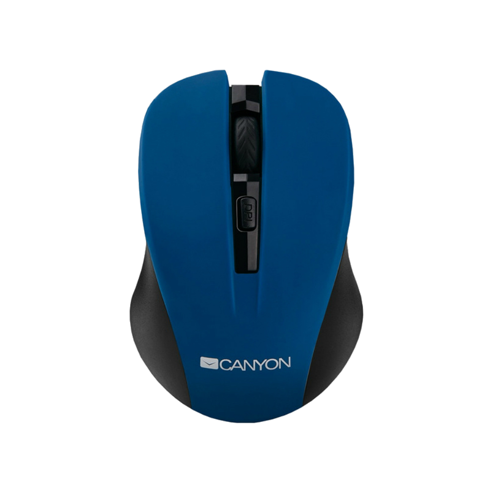 Mouse wireless Canyon CNE-CMSW1BL 1200 dpi albastru