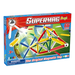 Set constructie Supermag maxi primary colors 66 pie