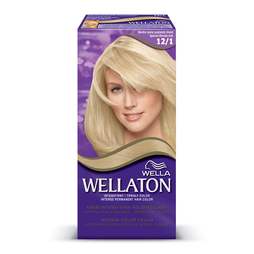 Vopsea de par Wellaton Maxi Single Blond Special Cenusiu 12/1