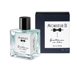 Apa de parfum Monsieur D. Gentleman in blu 100 ml