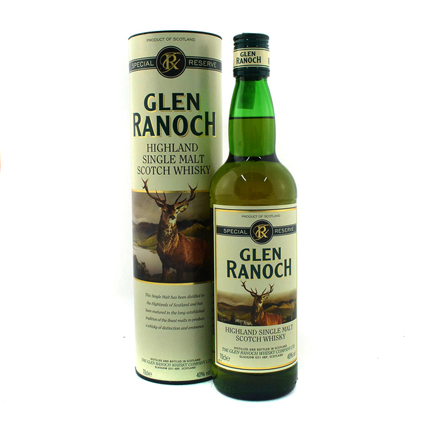 Whisky Glen Ranoch single malt, 0.7 l