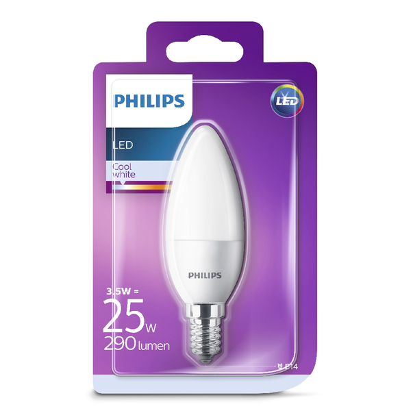 Bec LED Philips 25W B35 E14 CW FR ND 1BC/6