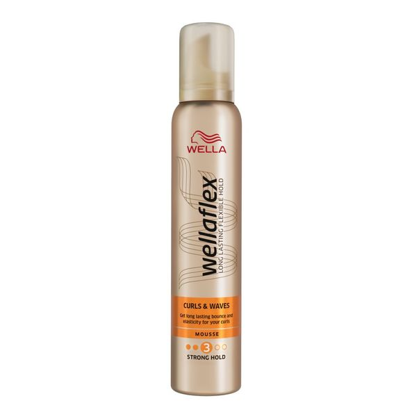 Spuma de par Wellaflex Curls & Waves 200ml