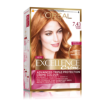 Vopsea de par permanenta L'Oreal Excellence Creme 7.43 Copper Blonde